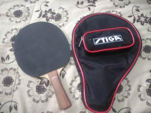 Raqueta Tenis De Mesa (ping Pong) Marca Stiga Como Nueva