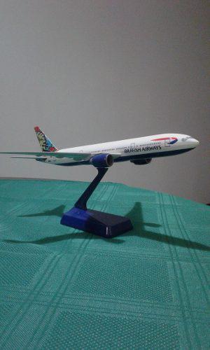 Avion Aeromodelismo British Airways Boeing 777