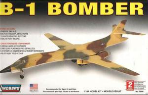 B-1 Bomber (avion) Marca Lindberg