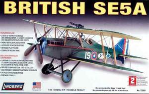 British Se5a (avion) Marca Lindberg