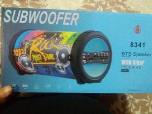 Corneta Subwoofer Bluetooth Portatil