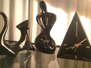 Esculturas en Cerámica Esmaltadas