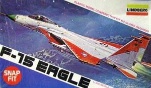 F-15 Eagle (avion) Marca Lindberg