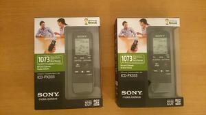 Grabador Digital Periodista Sony Icd Px333 Mp3 4gb  Hrs