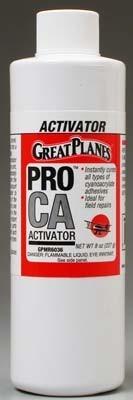 Great Planes Pro Ca Foam Safe Activator Refill 8 Oz Gpmr