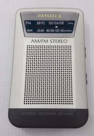 Mini Radio Portatil Am Fm Aiwa Original