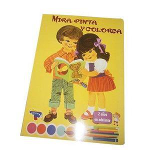 Mira Pinta Y Colorea