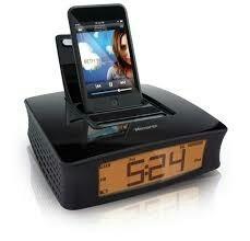 Radio Reloj Despertador Memorex St Entrada De Audio Y Iphone