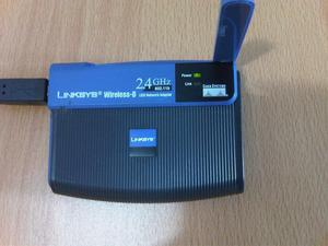 Adaptador WIFI USB Linksys Wusb54g