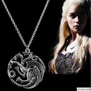 Collar Game Of Thrones Targaryen Juego De Tronos