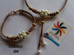 Collar + Pulsera/ Juegos De Collares / Maxicollares/ Cadena