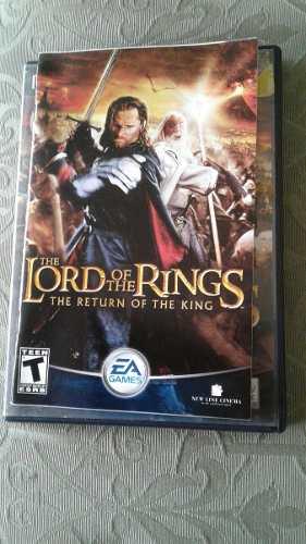 Juego Playstation 2 El Señor De Los Anillos