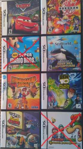 Juegos Nintendo Ds Originales En Su Estuche