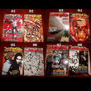 Lote Revistas De Graffiti (fisico) Buenas Condiciones
