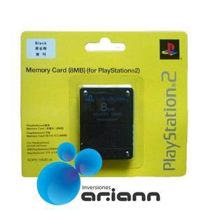 Memory Card Playstation 2 Y Ps2 Slim 8mb Tarjeta De Memoria