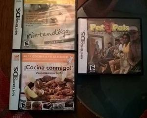 Remate Excelentes Juegos De Nintendo Ds Originales
