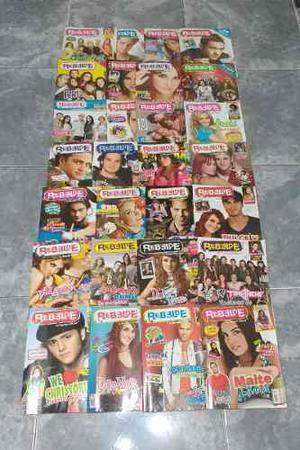 Revistas Oficiales Rbd / Rebelde (56 Ejemplares)