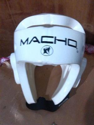 Casco Protector Para Taekwondo Marca Macho