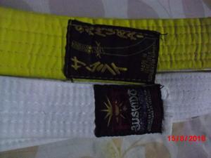 Cinturones De Karate Usados En Perfecto Estado