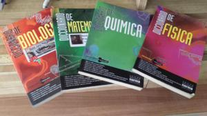 Diccionarios Física, química, matemática y biología