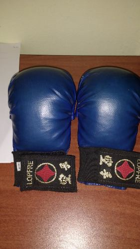 Guantines Para Karate Marca Lopfre Y Protector Bucal