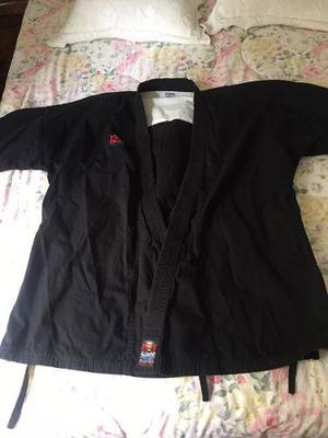 Kimono Bushido Negro Talla 3