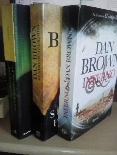 La Fortaleza DigitalEl Simbolo PerdidoInferno Dan Brown