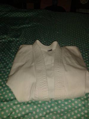 Traje De Karate Blanco Talla 2