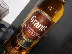 whiskey Grants bebida legitima