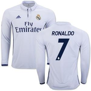 Camisa Manga Larga  Barcelona Messi Real Madrid Ronaldo