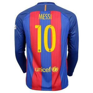 Camiseta Manga Larga  Barcelona Messi Real Madrid Cr7