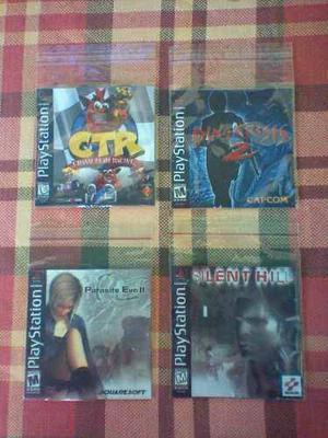 Juegos Genéricos De Playstation One.:los Mejores Títulos.