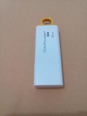 Pen Drive Kingston Yellow Original Blister 8 Gb