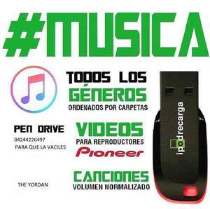 Vendo Pendray De 4gb Con Musica A Tu Gusto