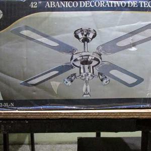 Ventilador De Techo Marca Silverpoint Modelo 42