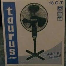 Ventilador Taurus De Pedestal 18 Pulgada. Rejillas Plástica