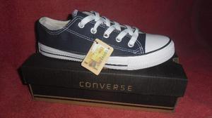 Zapatos Converse All Star En Gris Oscuro ** T: 35 A La 40 **