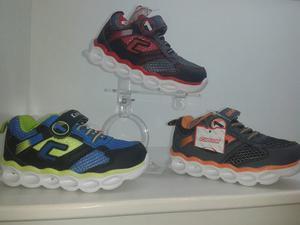 Zapatos Deportivos Para Niños Con Luces