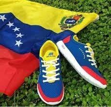 Zapatos Venezuela Tricolor (new Arrival)
