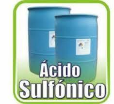 Acido Sulfonico Materia Prima