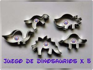 Cortador De Dinosaurios Reposteria Galletas Cakes
