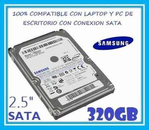 Disco Duro Samsung 320 Gb Sata Pc & Laptop