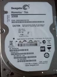 Disco Duro Seagate 320 Gb Para Laptop 2.5