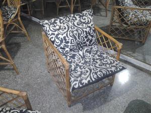 Juego de muebles de Rattan usados
