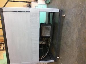 refrigerador con escarcha