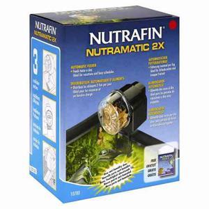 Alimentador Automatico Nutrafin, Para Peceras, Acuarios