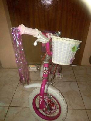 Bicicleta Miura Rin 12 Niña Color Rosado En Excelente
