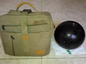 Bola Bowling Boliche Bolos Columbia 300 Punto Amarillo