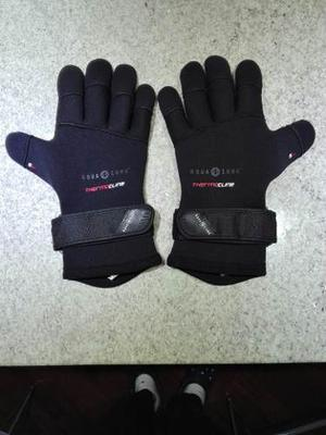 Guantes De Buceo Aqualung 5mm Thermocline Talla Xl