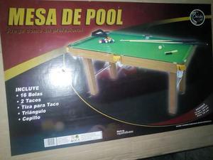 Mesa De Pool Infantil Juvenil Nueva De Paquete En Su Caja
